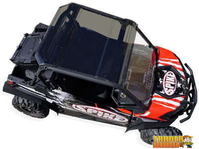 Can Am Maverick Trail Tinted Roof (2pc Design) | UTV ACCESSORIES - Free shipping