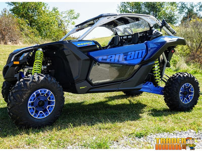 Can Am Maverick X-3 TINTED Lower Door Inserts by Spike | UTV ACCESSORIES - Free shipping
