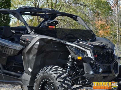 Can-Am Maverick X3 Half Windshield | SUPER ATV WINDSHIELDS - Free Shipping