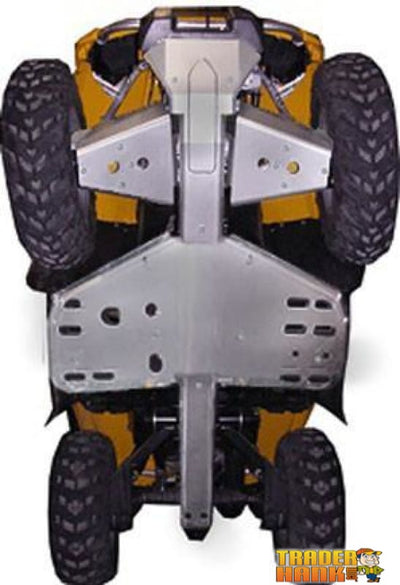 Can-Am Outlander 400 Ricochet 5-Piece Complete Aluminum Skid Plate Set | Ricochet Skid Plates - Free Shipping