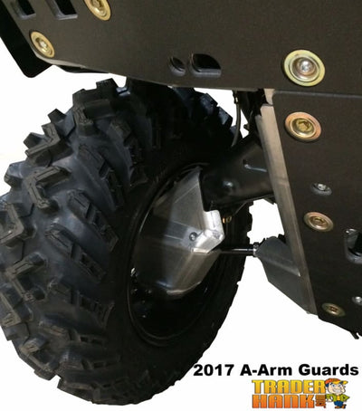 Can-Am Outlander 500 MAX Ricochet 4-Piece Front & Rear A-Arm & CV boot Guard Set | Ricochet Skid Plates - Free Shipping