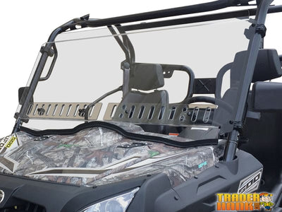 CF Moto U-Force 500/800 Dual Venting Scratch Resistant Windshield | UTV ACCESSORIES - Free shipping
