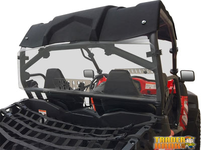 CF Moto Z-Force Rear Windshield With Sliding Vent | UTV ACCESSORIES - Free shipping