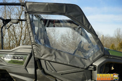 Honda Pioneer 1000 5 Seat Front/back Door Kit With Middle Rear Window Combo | Utv Accessories - Free Shipping