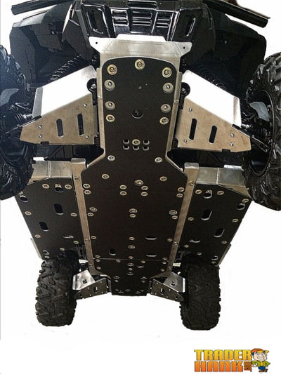 Honda Pioneer 1000 Ricochet 9-Piece Complete Skid Plate Set in Aluminum or with 1/4 UHMW Layer | Ricochet Skid Plates - Free Shipping