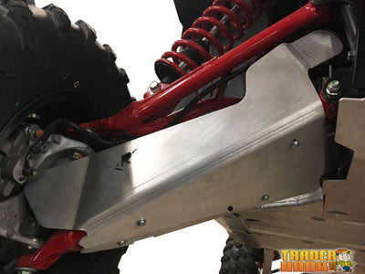 Honda Talon 1000R 10-Piece Complete Aluminum or UHMW Skid Plate Set | Ricochet Skid Plates - Free Shipping
