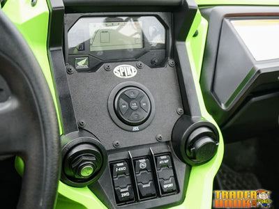 HONDA TALON DASH MOUNT STEREO PLATE-LARGE (66mm) | UTV ACCESSORIES - Free shipping