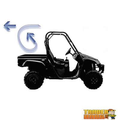 Kawasaki Mule 3000/4000 Windstopper Black Mesh | UTV ACCESSORIES - Free Shipping