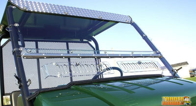 Kawasaki Mule 4000/4010 Aero-Vent Windshield | Utv Accessories - Free Shipping