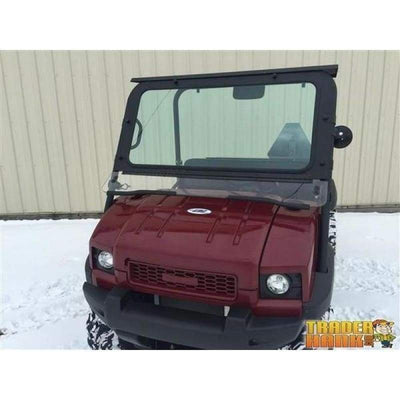 Kawasaki MULE 4010 Laminated Glass Windshield | UTV ACCESSORIES - Free Shipping