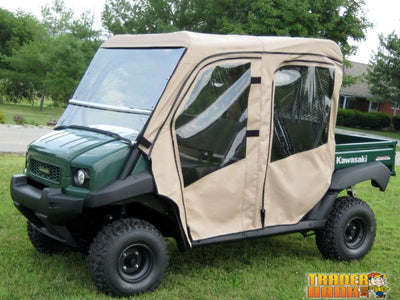 Kawasaki Mule 4010 Trans Full Cab With Aero-Vent Windshield | Utv Accessories - Free Shipping
