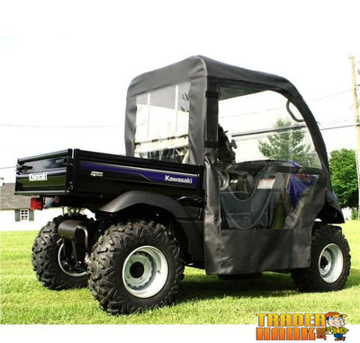 Kawasaki Mule 600/610 Full Cab Enclosure Without Windshield | Utv Accessories - Free Shipping