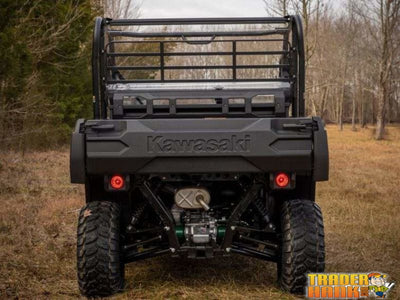 Kawasaki Mule Pro FX Rear Windshield | SUPER ATV WINDSHIELDS - Free Shipping