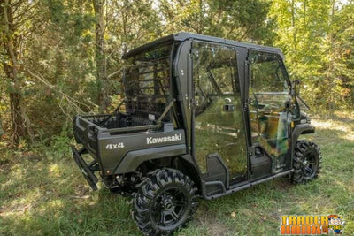 Kawasaki Mule Pro Rear Windshield | SUPER ATV WINDSHIELDS - Free Shipping