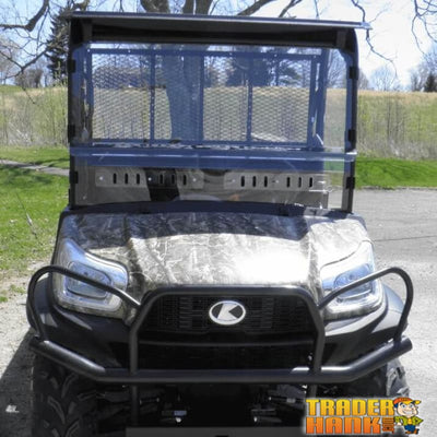 Kubota RTV XG850 Sidekick Modular Two-Piece Front Lexan Windshield with Adjustable Vents | UTV - Free shipping