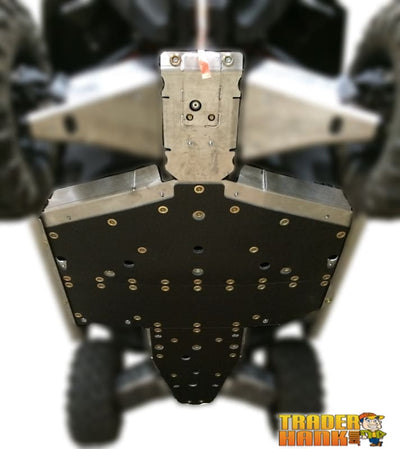Polaris General XP 1000 Ricochet 4-Piece Full Frame Skid Plate Set | Ricochet Skid Plates - Free shipping