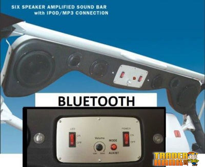 Polaris Ranger 2009-2013 Bluetooth Amplified Six Speaker Sound Bar | UTV ACCESSORIES - Free Shipping