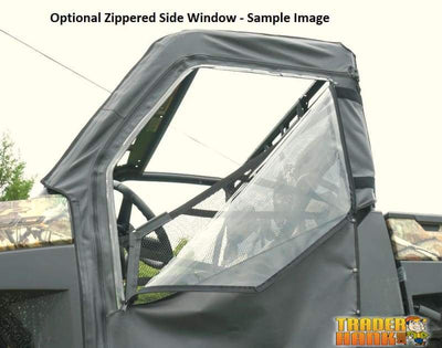 Polaris Ranger Full Size Diesel Crew Soft Door Rear Window Combo 2015-2018 | RANGER-DOORS-DIESEL-CREW-FULLSIZE-PRO-FIT-15-18 - Free shipping