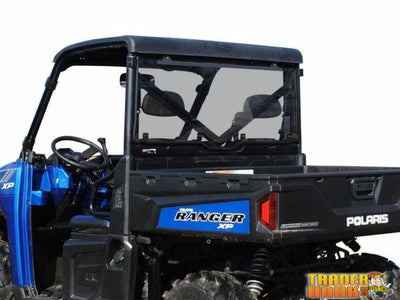 Polaris Ranger XP 900 Crew Rear Windshield | RANGER-WINDSHIELD-REAR-900-CREW-FULLSIZE-PRO-FIT-14-19 - Free shipping