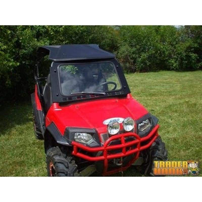 Polaris RZR Laminated Safety Glass Windshield with Wiper | UTV ACCESSORIES - Free Shipping