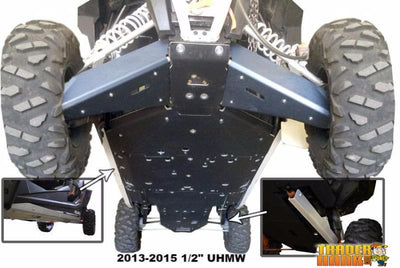 Polaris RZR XP-4 1000 Ricochet 11-Piece Complete Aluminum or UHMW Skid Plate Set | Ricochet Skid Plates - Free Shipping