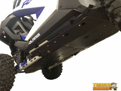 Polaris RZR XP Pro Ricochet 10-Piece Complete Aluminum or UHMW Skid Plate Set | Ricochet Skid Plates - Free shipping
