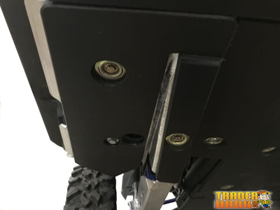 Polaris RZR XP Pro Ricochet 6-Piece Aluminum or UHMW Frame and Rock Slider Skid Plate Set | UTV ACCESSORIES - Free shipping