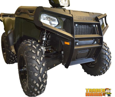 Polaris Sportsman 570 Ricochet Custom Front Bumper & Brush Guard | Ricochet Skid Plates - Free shipping