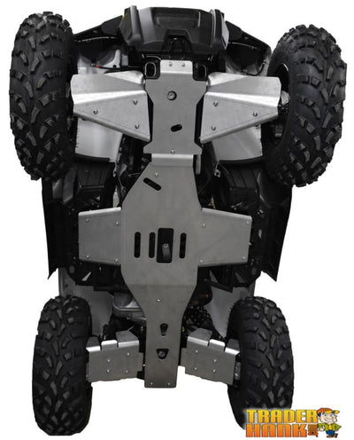 Polaris Sportsman 570 Touring Ricochet 7-Piece Complete Aluminum Skid Plate Set | Ricochet Skid Plates - Free Shipping