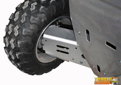 Polaris Sportsman 850 Ricochet 4-Piece Aluminum A-Arm & CV Boot Guard Set | Ricochet Skid Plates - Free Shipping