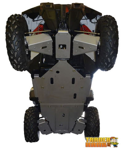 Polaris Sportsman ACE Ricochet 7-Piece Complete Aluminum Skid Plate Set | Ricochet Skid Plates - Free Shipping