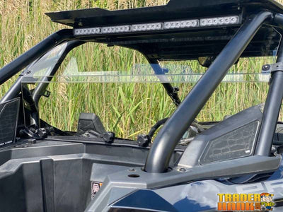 RZR PRO XP Cab Back/Dust Stopper (Hard Coated Polycarbonate) | UTV ACCESSORIES - Free shipping