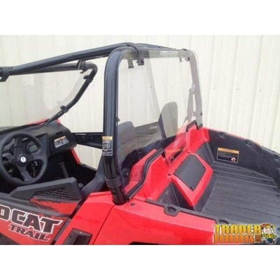 Wildcat Trail (50 Wide) Polycarbonate Cab Back / Dust Stopper | UTV ACCESSORIES - Free Shipping