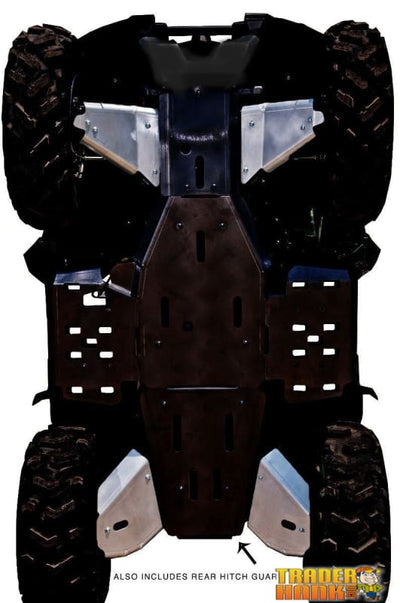 Yamaha Grizzly 550 Ricochet 5-Piece Aluminum A-Arm & CV Boot Guard Set | Ricochet Skid Plates - Free Shipping