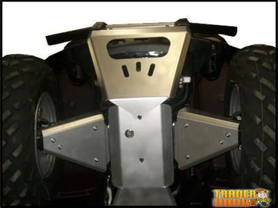 Yamaha Grizzly 660 Ricochet 8-Piece Complete Aluminum Skid Plate Set | Ricochet Skid Plates - Free Shipping