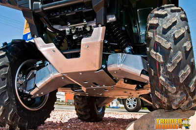 Yamaha Grizzly 700 Ricochet 3-Piece Full Frame Skid Plate | Ricochet Skid Plates - Free shipping