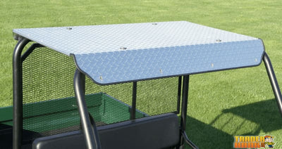 Yamaha Rhino 450/660/700 Aluminum Diamond Plate Hard Top | Utv Accessories - Free Shipping