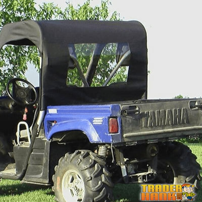 Yamaha Rhino 450/660/700 Half Soft Door Rear Window Combo | Utv Accessories - Free Shipping