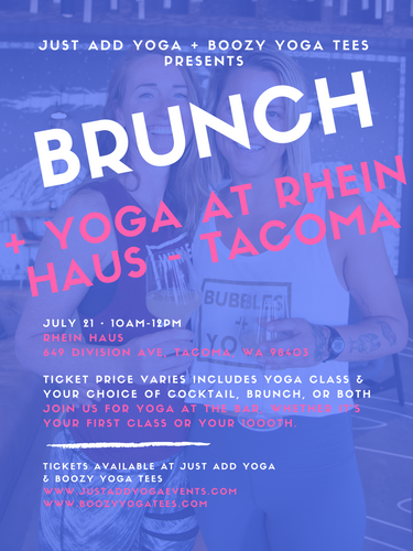 Brunch + Yoga at Rhein Haus - Tacoma