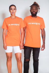 Plain The Difference T-Shirt - Orange