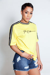 Unisex The Difference T Shirt- Yellow
