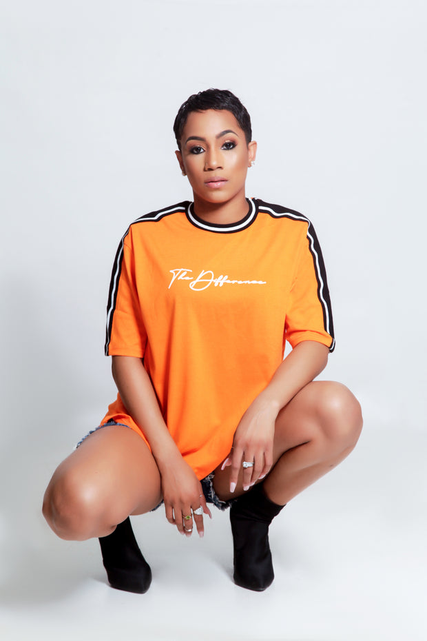 Unisex The Difference T Shirt- Orange