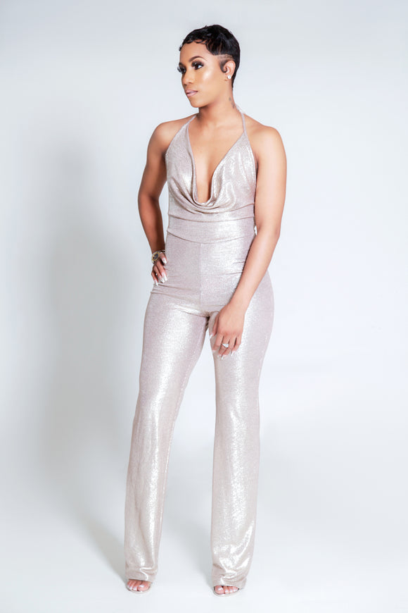Gold Time Jumpsuit