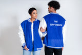 The Difference Varsity Jacket- Blue