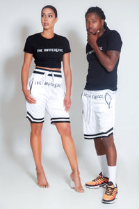 The Difference Basketball Shorts - White