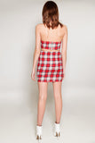 Rosemary Plaid Mini Skirt