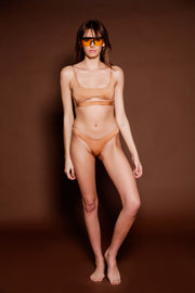 Take Me Over Swim Set- Nude