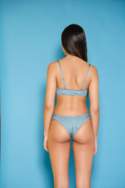 Take Me Over Swim Set- Blue