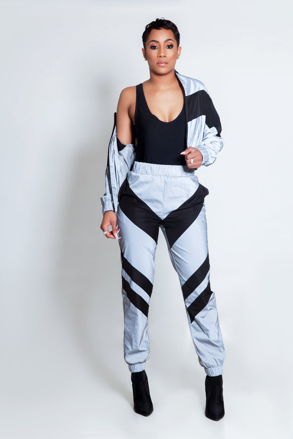 Take Off Reflector Jogger Set