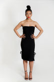 Show Down Strapless Dress